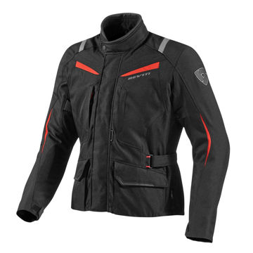 Resim Revit Voltiac Motosiklet Montu Siyah Kırmızı