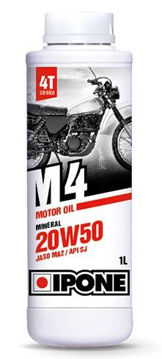 Resim IPONE M4 / (20W50) 4T Mineral Motor Yağı (1L)