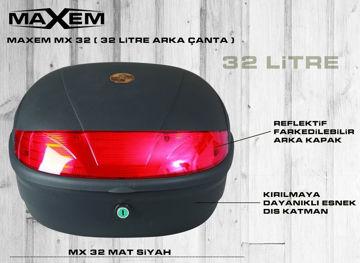 Resim Maxem MX-32 Litre Arka Çanta Siyah