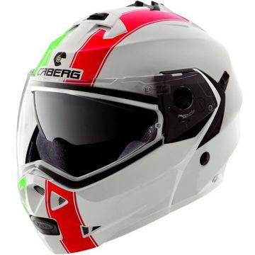 Resim Caberg Duke 2 Legend İtalia Çenden Açılır Motosiklet Kaskı