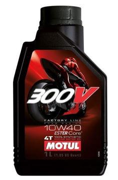 Resim Motul 300V MotoGP Serisi 10W40   1 Litre Ful Sentetik Motosiklet Motor Yağı