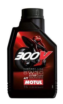 Resim Motul 300V MotoGP Serisi  5W30   1 Litre Ful Sentetik Motosiklet Motor Yağı