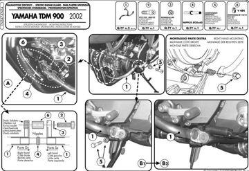 Resim Givi Tn347 Yamaha Tdm 900 (02-14) Motosiklet Koruma Demiri