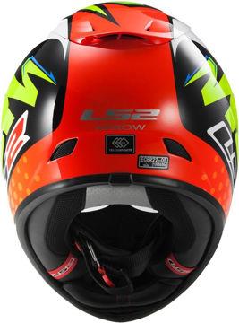 Resim LS2 FF323 Replica Isaac Vinales Motosiklet Kaskı