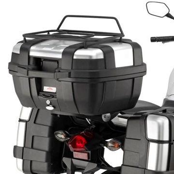 Resim Givi 1111FZ Honda NC 700 X-S - NC 750 X-S - NC 750 X-S DCT (12-15) Motosiklet Arka Çanta Taşıyıcı