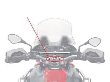 Resim Givi 02SKIT Smart Bar Motosiklet Montaj Bağlantı Kiti