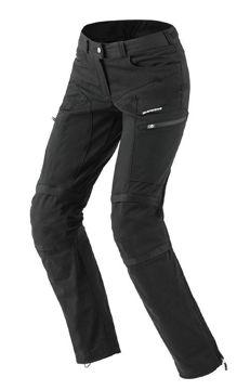 Resim Spidi Amygdale Bayan Yazlık Motosiklet Pantalonu Siyah