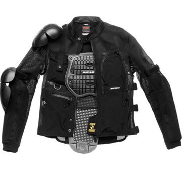 Resim Spidi Multitec Armor Evo Motosiklet File Koruma Siyah