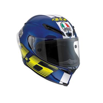 Resim AGV Corsa Top V46 Motosiklet Kaskı Mavi
