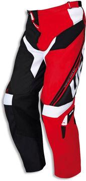 Resim Ufo Cluster Motosiklet Pantolonu Kırmızı Siyah
