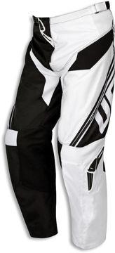 Resim Ufo Cluster Motosiklet Pantolonu Beyaz Siyah