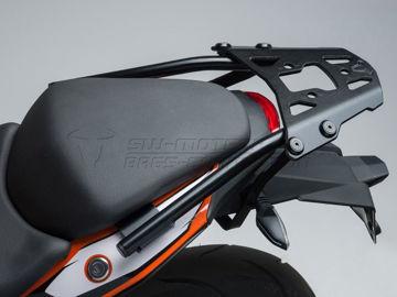 Resim Sw Motech Alu-Rack Siyah KTM 125-200 11- 390 Duke 13-16 Arka Çanta Taşıyıcı