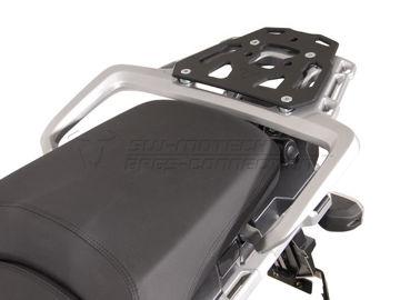 Resim Sw Motech Alu-Rack Siyah Triumph Tiger 1200 Explorer 11- Arka Çanta Taşıyıcı Tablası