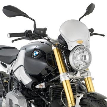 Resim Givi 100AL BMW R Nine T (14-16) - Yamaha XSR700 (16) Motosiklet Aluminyum Rüzgar Siperlik