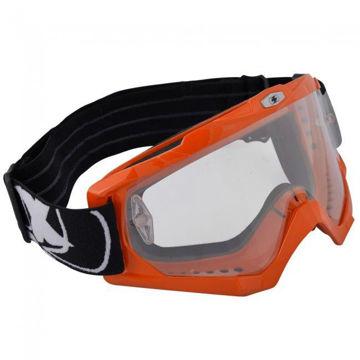 Resim Oxford OX203 Assault Pro Glossy Orange Goggles Gözlük