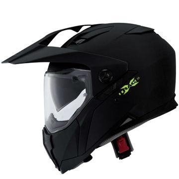 Resim Caberg Xtrace Mat Siyah Kapalı Motosiklet Kaskı