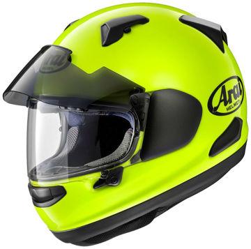 Resim Arai QV PRO Flour Yellow Kapalı Motosiklet Kaskı