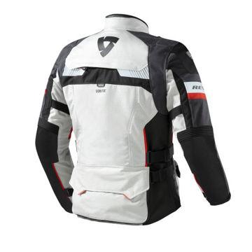 Resim Revit Defender Pro Gore-Tex Motosiklet Montu Gri Kırmızı