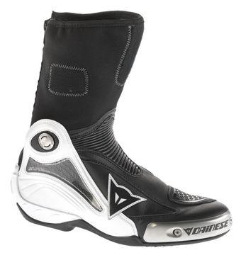 Resim Dainese Axial Pro In Motosiklet Botu Siyah Beyaz