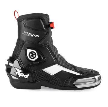 Resim Spidi XPD X-Two Motosiklet Botu Siyah Beyaz