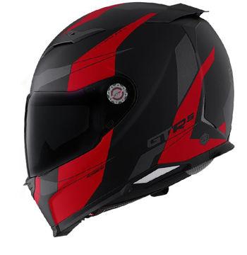Resim CMS GTRS 3 Speedster Kapalı Motosiklet Kaskı Kırmızı