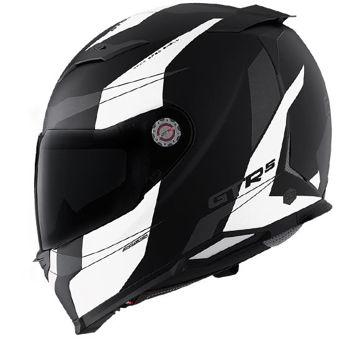 Resim CMS GTRS 3 Speedster Kapalı Motosiklet Kaskı Mat Beyaz