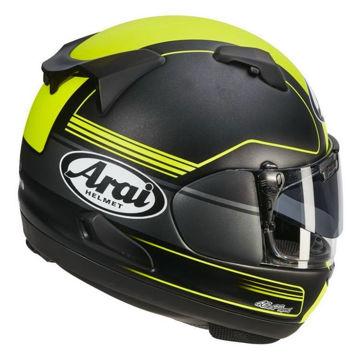 Resim Arai QV Pro Focus Sarı Kapalı Motosiklet Kaskı