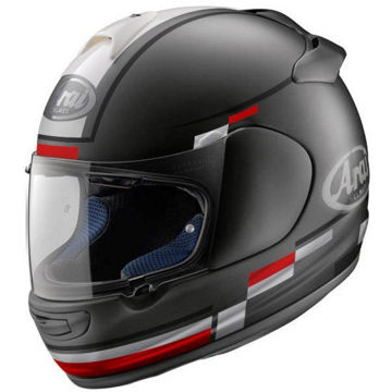 Resim Arai Axces 3 Blaze Siyah Kapalı Motosiklet Kaskı
