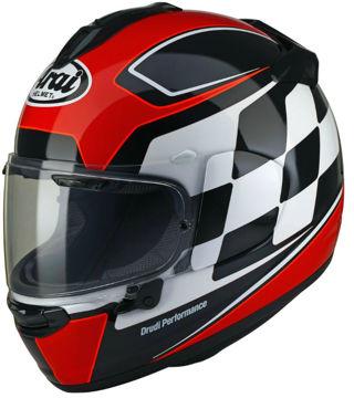 Resim Arai Chaser-X Finish Kırmızı Kapalı Motosiklet Kaskı