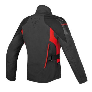 Resim Dainese D-Cyclone Gore-Tex Motosiklet Montu Siyah Kırmızı