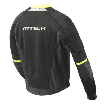 Resim MTECH Hyperlite Mesh Yazlık Motosiklet Montu Siyah Sarı