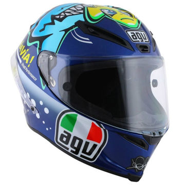 Resim AGV Corsa Misano 2015 Motosiklet Kaskı Mavi