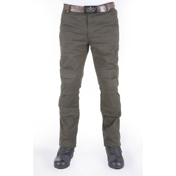 Resim Motobike Jeans 5015 Haki Aramid Kot Motosiklet Pantolonu