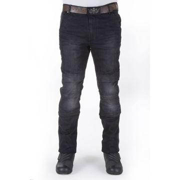 Resim Motobike Jeans 5014 Siyah Aramid Kot Motosiklet Pantolonu