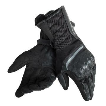 Resim Dainese Air Fast Yazlık Uzun Motosiklet Eldiveni Siyah