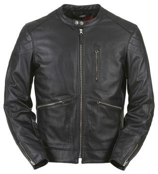 Resim Furygan Coburn Deri Motosiklet Ceketi Siyah