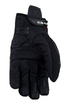Resim Five Gloves Enduro Quad WP Kışlık Motosiklet Eldiveni Siyah Gri