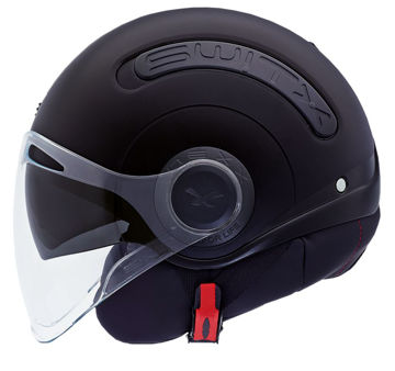 Resim NEXX SX.10 Yarım Motosiklet Kaskı Mat Siyah