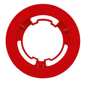 Resim NEXX SX.10 Yan Kapak Pulu Kırmızı