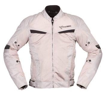 Resim Modeka X-Vent Motosiklet Ceket Açık Grı