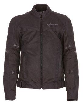 Resim Modeka X-Vent Yazlık Motosiklet Ceketi Siyah