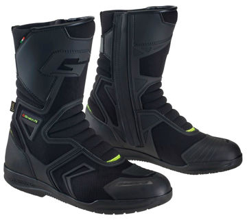 Resim Gaerne G-Helium Gore-Tex Yazlık Motosiklet Çizmesi Siyah