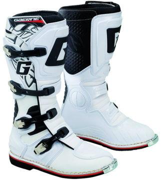 Resim Gaerne GX-1 Enduro Cross Motosiklet Yarış Çizmesi Beyaz