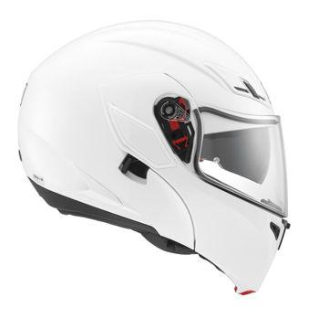 Resim AGV Compact ST Solid Çene Açılır Motosiklet Kaskı Beyaz