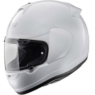 Resim Arai Axces 3 Beyaz Kapalı Motosiklet Kaskı