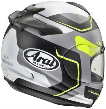 Resim Arai Axces 3 Sense Fluor Kapalı Motosiklet Kaskı