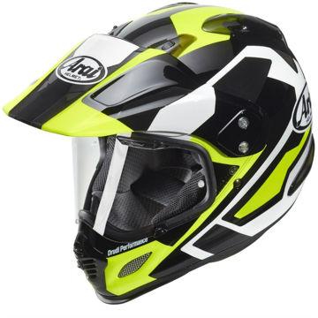 Resim Arai Tour X4 Catch Yellow Kapalı Motosiklet Kaskı
