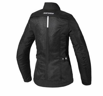 Resim Spidi Solar Net Kadın Yazlık Motosiklet Ceketi Siyah