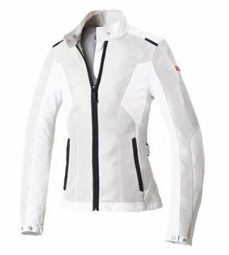 Resim Spidi Solar Net Kadın Yazlık Motosiklet Ceketi Beyaz