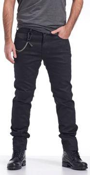 Resim Nyks jeans NY01 Kevlar Motosiklet Pantolonu Siyah